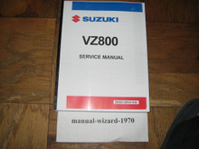 2005-2019 Suzuki Boulevard M50 / Marauder 800 / VZ800 Part# 99500-38054-03E service shop repair manual