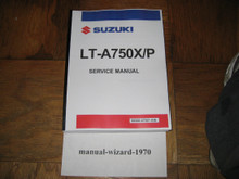 2008-2013 Suzuki King Quad 750 / LT-A750X / LT-A750XP / King Quad 750AXi Part# 99500-47021-03E service shop repair manual
