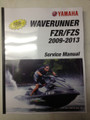 2009-2013 Yamaha WaveRunner FZR / FZS Part# LIT-18616-03-18 service shop repair manual