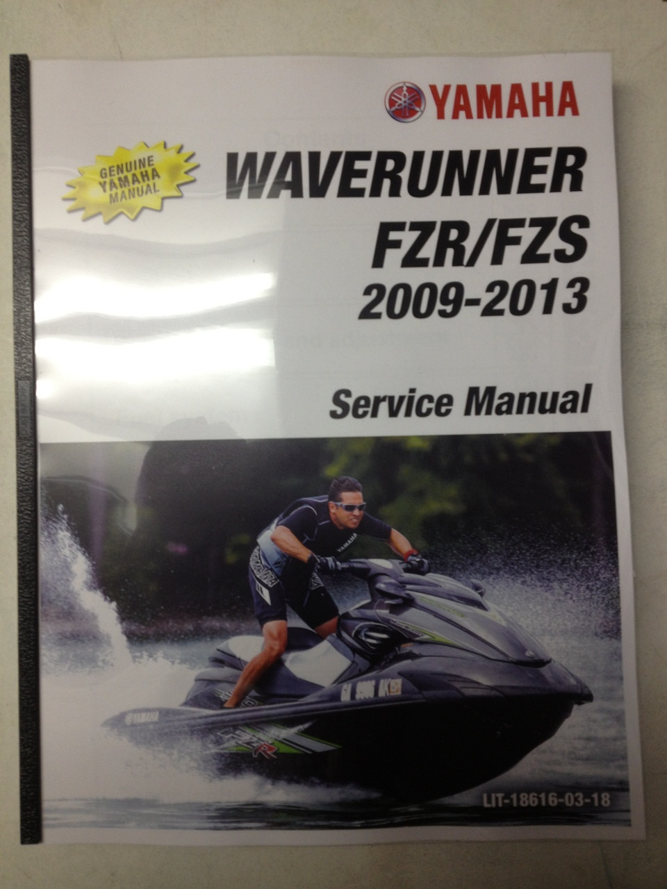 2009-2013 Yamaha WaveRunner FZR / FZS Part# LIT-18616-03-18 service shop repair  manual