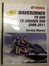 2008-2011 Yamaha WaveRunner FX SHO / FX Cruiser SHO Part# LIT-18616-03-16 service shop repair manual