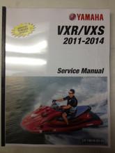 2011-2014 Yamaha WaveRunner VXR / VXS Part# LIT-18616-03-31 service shop repair manual