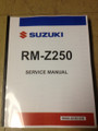 2010-2018 Suzuki RM-Z250 Part# 99500-42193-03E service shop repair manual