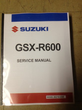 2011-2019 Suzuki GSX-R600 Part# 99500-36210-03E service shop repair manual