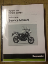 2015-2019 Kawasaki Versys 650 / ABS Part# 99924-1490-05 service shop repair manual