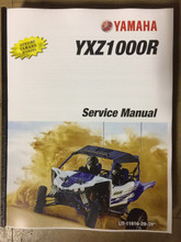 2016-2017 Yamaha YXZ1000R, side X side Part# LIT-11616-29-39 service shop repair manual
