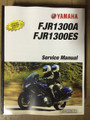 2016-2018 Yamaha FJR1300A / FJR1300ES Part# LIT-11616-29-61 service shop repair manual