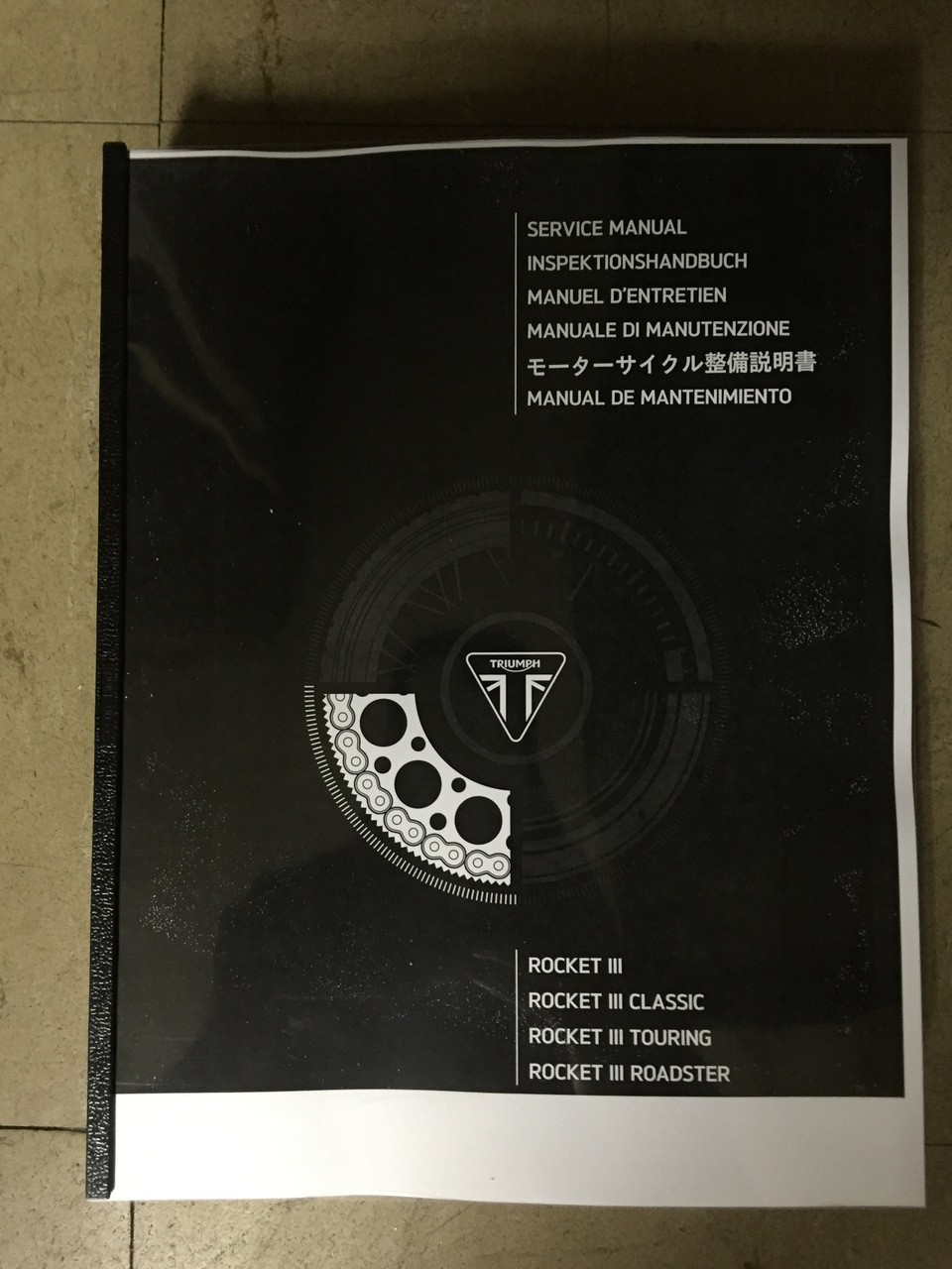 triumph rocket 3 owners manual