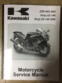 2012-2015 Kawasaki ZX-14R Part# 99924-1450-04 service shop repair manual