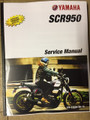 2017 Yamaha SCR900 (Scrambler) Part# LIT-11616-30-15 service shop repair manual