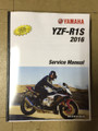 Blemished 2016-2017 Yamaha YZF-R1S Part# LIT-11616-29-36 service shop repair manual