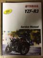 2017-2019 Yamaha YZF-R3 ABS Part# LIT-11616-30-55 service shop repair manual