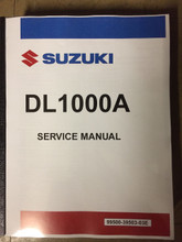 2014-2018 Suzuki V Strom 1000 / DL1000A / DL1000XA Part# 99500-39503-03E service shop repair manual