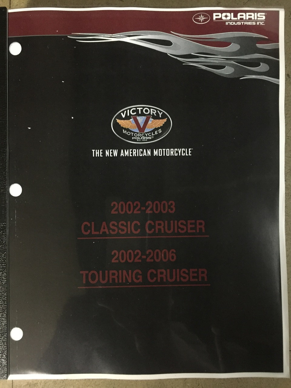 2002-2003 Victory Classic Cruiser Part# 9919632 service shop repair manual