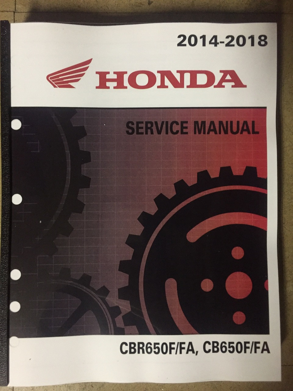 2016 2017 2018 honda cbr650f cbr650fa cb650f cb650fa part rh service shop repair manual com 2014 honda cbr650f owners manual 2018 honda cbr650f owners manual