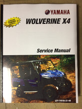 2018 Yamaha Wolverine X4 Part# LIT-11616-31-40 service shop repair manual