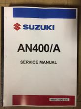 2017-2020 Suzuki Burgman 400 / AN400A Part# 99500-34240-03E service shop repair manual