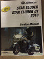 2018 Yamaha Star Eluder / Eluder GT Part# LIT-11616-31-06 service shop repair manual