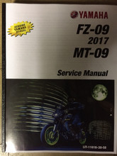 2017 Yamaha FZ-09 / 2018-2019 MT-09 Part# LIT-11616-30-58 service shop repair manual