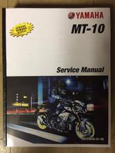 2018-2019 Yamaha MT-10 Part# LIT-11616-31-48 service shop repair manual