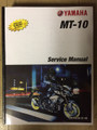 2018-2019 Yamaha MT-10 Part# LIT-11616-31-48 service shop repair manual