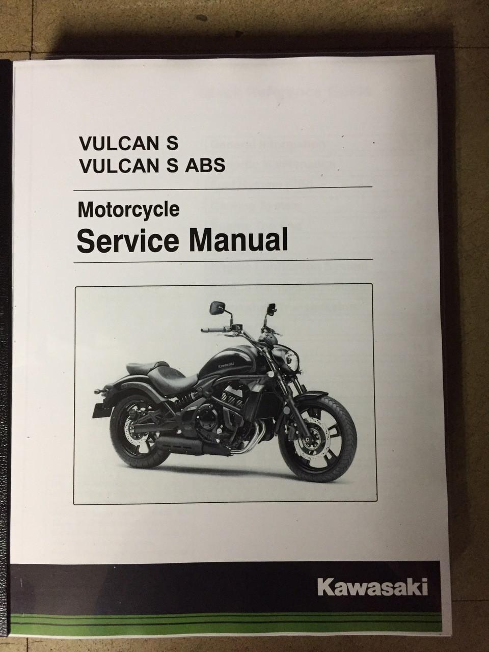 2017-2019 Kawasaki Vulcan S / ABS Part# 99924-1515-03 service shop repair  manual
