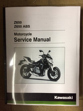 2017-2018 Kawasaki Z650 / ABS Part# 99924-1516-02 service shop repair manual