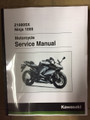 2017-2018 Kawasaki Ninja 1000 / Z1000SX Part# 99924-1519-02 service shop repair manual
