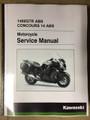 2015-2019 Kawasaki Concours 14 ABS / 1400GTR ABS Part# 99924-1488-05 service shop repair manual