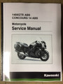 2015-2021 Kawasaki Concours 14 ABS / 1400GTR ABS Part# 99932-0159-02 service shop repair manual