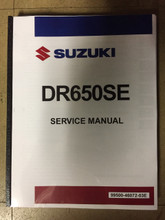1996-2020 Suzuki DR650S / DR650SE Part# 99500-46072-03E service shop repair manual