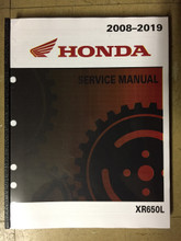 2008-2019 Honda XR650L Part# 61MY659 service shop repair manual