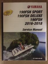 2016-2018 Yamaha PWC Jet Boat 190FSH / 190FSH Sport / 190FSH Deluxe Part# LIT-18616-03-66 service shop repair manual