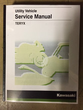 2016-2019 Kawasaki Teryx / KRF800 / F / G / H  Part# 99924-1500-04 service shop repair manual