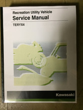 2016-2019 Kawasaki Teryx4 / KRT800 / F / G / H Part# 99924-1501-04 service shop repair manual