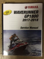 2017-2019 Yamaha Wave Runner GP1800 Part# LIT-18616-03-72 service shop repair manual