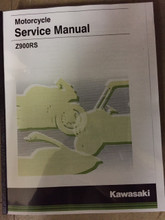 2018-2019 Kawasaki Z900RS / Café Part# 99924-1537-03 service shop repair manual