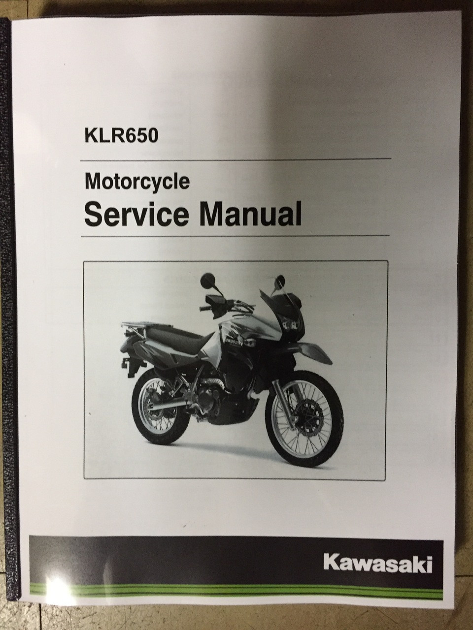 kawasaki klr 650 owners manual