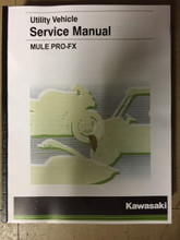 2016-2019 Kawasaki Mule Pro-FX / KAF820  Part# 99924-1498-04 service shop repair manual