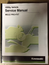 2015-2019 Kawasaki Mule Pro-FXT / KAF820 Part# 99924-1484-05 service shop repair manual