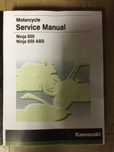 2017-2019 Kawasaki Ninja 650 / ABS Part# 99924-1517-03 service shop repair manual