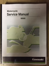 2019 Kawasaki W800 / Street / Café Part# 99924-1556-31 service shop repair manual