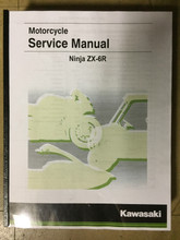2019 Kawasaki ZX-6R Part# 99924-1547-31 service shop repair manual