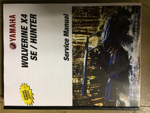 2019 Yamaha Wolverine X4 / SE / Hunter Part# LIT-11616-32-12 service shop repair manual