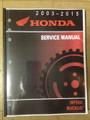 2003-2019 Honda NPS50 Ruckus Part# 61GEZ13 service shop repair manual