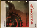 2021 Honda Trail 125 / 125A / CT125 ABS Part# 61K2E00 service shop repair manual