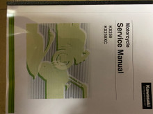2021 Kawasaki KX250X / KX250XC Part# 99830-0039-02 service shop repair manual