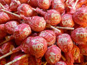 Strawberry Tootsie Pops