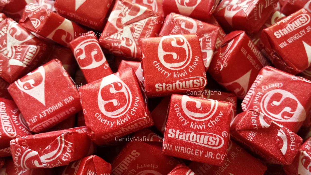 Cherry Kiwi Starburst Chewy Candy 2 pounds