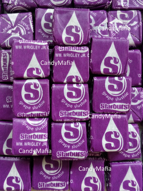 starburst grape slushie chewy candy 2 pounds summer splash